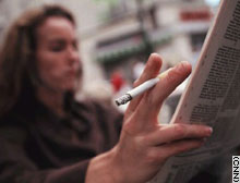 Pro-smoking groups fear smoking could be banned in open-air parks.