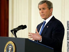 Bush said the U.N. Security Council will vote in a matter of days on a U.S.-backed resolution authorizing force against Iraq.