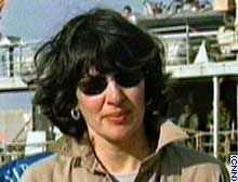 CNN's Christiane Amanpour in Umm Qasr