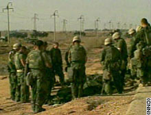 troops pray