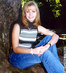 Jessica Lynch, pictured in 2000, was rescued from Iraqi captors early Wednesday.