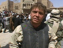 CNN's Ryan Chilcote in Najaf