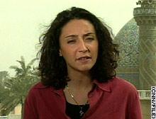 CNN correspondent Rym Brahimi