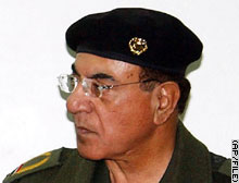Mohammed Saeed al-Sahaf denies reports that U.S. forces have entered Baghdad.