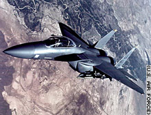 A U.S. F-15E such as this went down Monday over Iraq, officials said.