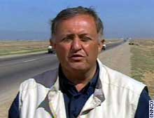 CNN's Brent Sadler in northern Iraq