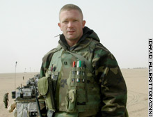 Capt. Tim Newland, commander of Bravo Company: