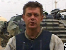 CNN correspondent Martin Savidge