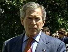 President Bush: 'We believe there are chemical weapons in Syria.'