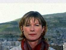 CNN correspondent Sheila MacVicar