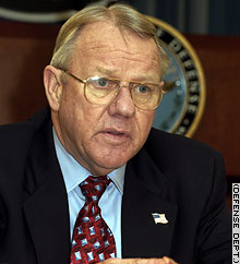 Former Gen. Jay Garner heads the Pentagon's Office of Reconstruction and Humanitarian Assistance.