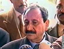 Farouk Hijazi, former operations chief of Iraq's intelligence service, also held posts as ambassador to Turkey and Tunisia. He was taken into custody near the Syrian border.