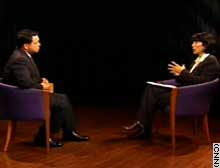 King Abdullah II was interviewed Sunday in London.