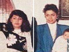 Saddam's daughters Rana, left, and Raghad