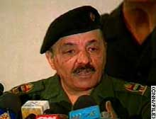 Former top Iraqi Vice President Ramadan shown in a file photo.