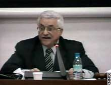 Palestinian Prime Minister Mahmoud Abbas asked for more power from the Palestinian Legislative Council on Thursday.