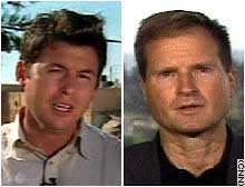 CNN's Matthew Chance, left, and Chris Burns.