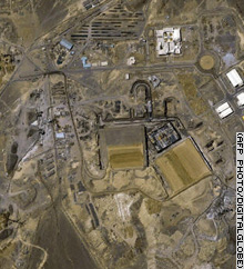 A recent IAEA report said traces of enriched uranium had been found at Iran's Natanz nuclear facility.