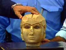 The Warka Mask has returned to the Iraqi National Museum in Baghdad.