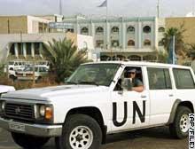 U.N. inspectors in Baghdad in 1998