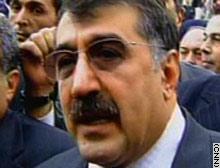 Turkish Interior Minister Abdulkadir Aksu