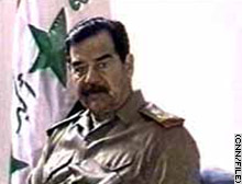 Several Islamic web sites are urging people to send messages to Saddam Hussein.