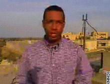 CNN correspondent Alphonso Van Marsh
