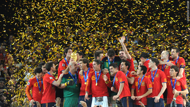 Iniesta World Cup Final Celebration Gallery World Cup Final