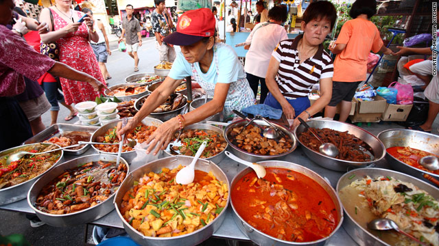 Malaysian cuisine -- a melange of influences