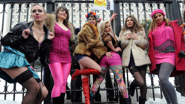 Maybe, were Nude protester femen protests was