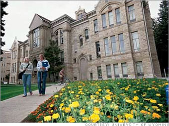 Top e schools university of wyoming 4 fortune small business