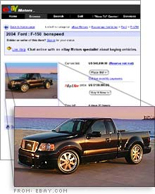 Cnn Com Ford F 150 Listed On Ebay For 150 000 May 12 2005