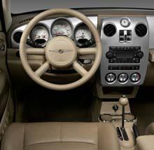 2006 Chrysler PT Cruiser Interior. (Photo: DaimlerChrysler)
