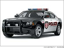 Dodge Charger in police livery