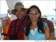 Sid and Divya Arora