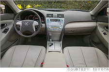 Camry Hybrid dash