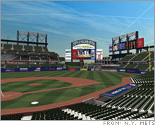 Citigroup's record $20 million a year naming rights deal for the new Mets stadium signed last year has reportedly already been matched by Barclays.