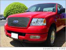 Weak sales of the Ford's best-selling F-series pickup truck helped cause a bigger than forecast loss at the embattled automaker.