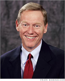Ford CEO Alan Mulally announced a widespread bonus plan for most Ford employees despite the company's losses.