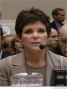 Former Hewlett Packard Board chairperson Patricia Dunn