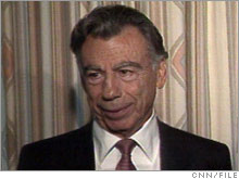 Financier Kirk Kerkorian, who is offering $4.5 billion for Chrysler.