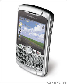 The new BlackBerry Curve
