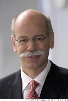 DaimlerChrysler Chairman Dieter Zetsche.