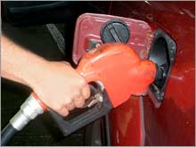 Gas prices hit a record high for the fourth straight day Wednesday, according to the AAA survey of up to 85,000 gas stations.