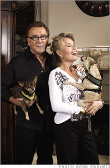 Michele Mann and Charles Wally