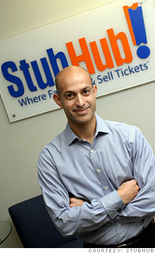 StubHub President Chris Tsakalakis - his company is transforming sports business.