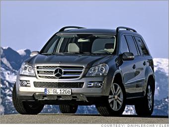 Diesel power served 3 ways mercedes benz gl 320 cdi 3 for Mercedes benz gl diesel
