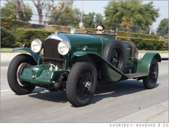 1931 Bentley 4 1/2-liter supercharged 2/3-Seater Boat Tail Roadster