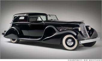 1935 Duesenberg SJ Town Cabriolet