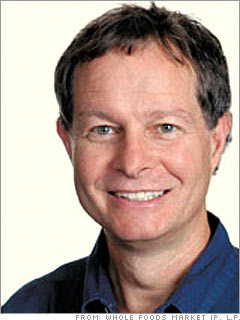 Whole Foods CEO John Mackey slimmed down the grocery chain's executive salaries, resulting in a healthier, happier company.